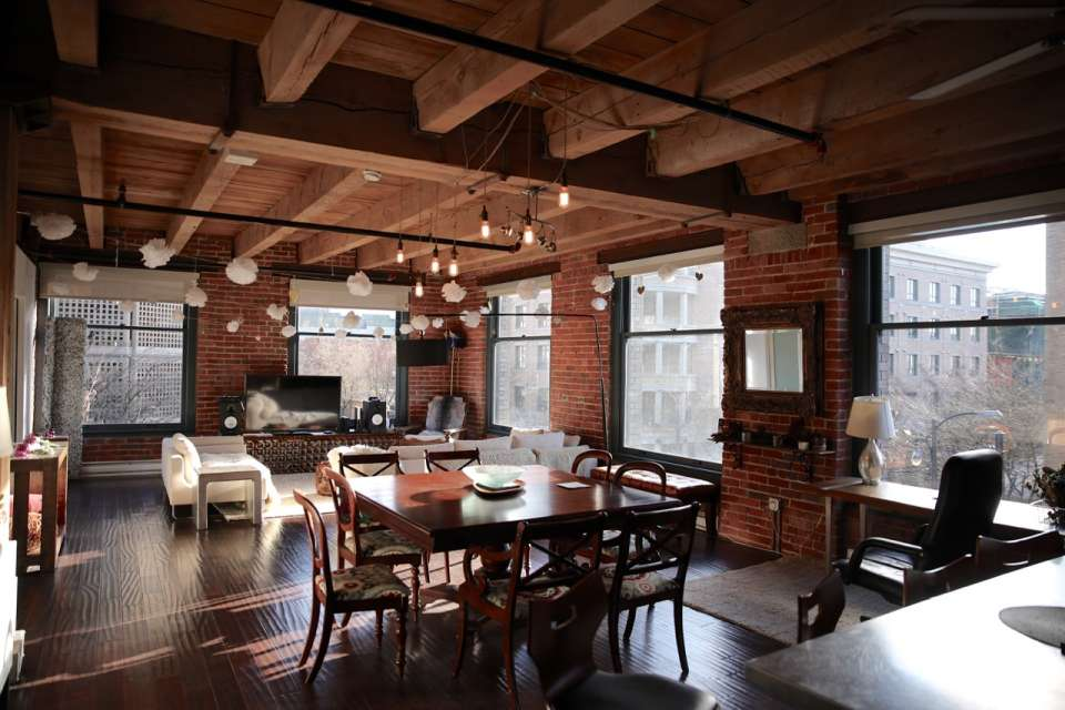 Heritage Koret Loft Beauty, with Brick and Beams